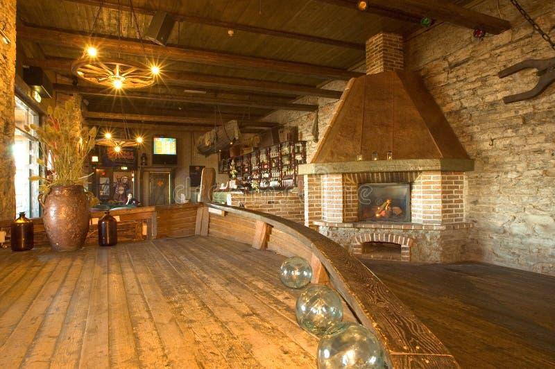 Taverne de port image libre de droits