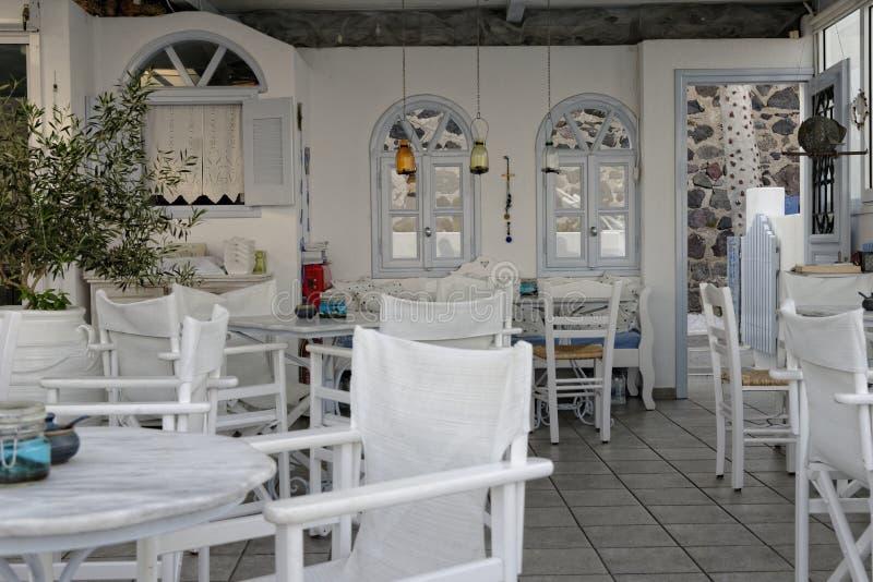 Taverne grecque photographie stock libre de droits