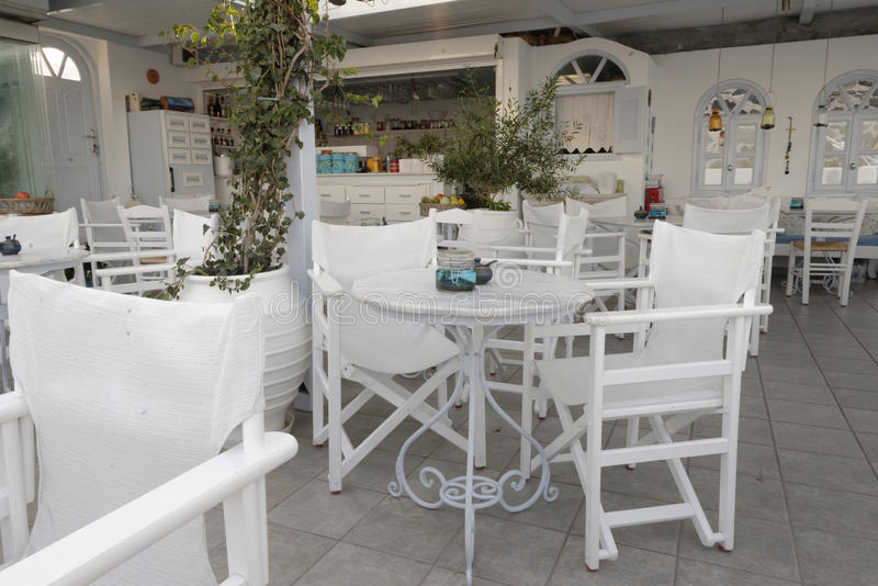 Taverne grecque photographie stock