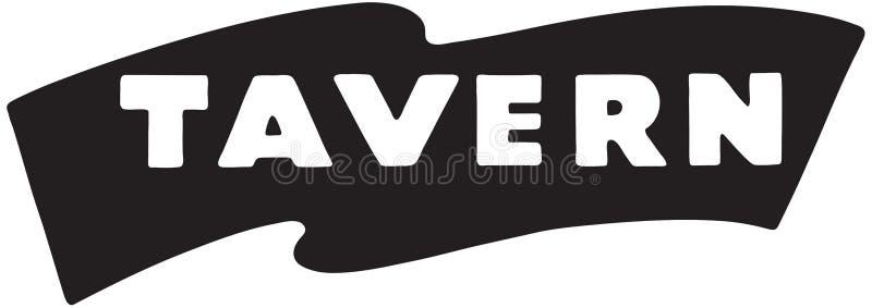 Taverne 2 illustration de vecteur