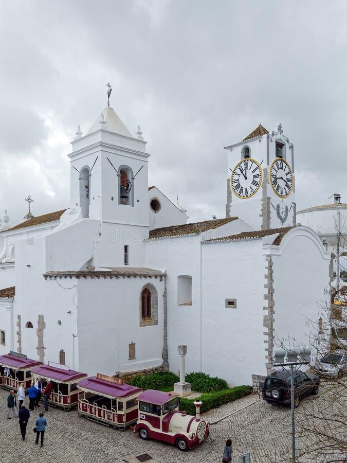 TAVIRA,南部的ALGARVE/PORTUGAL - 3月8日:旅游火车arri 库存图片