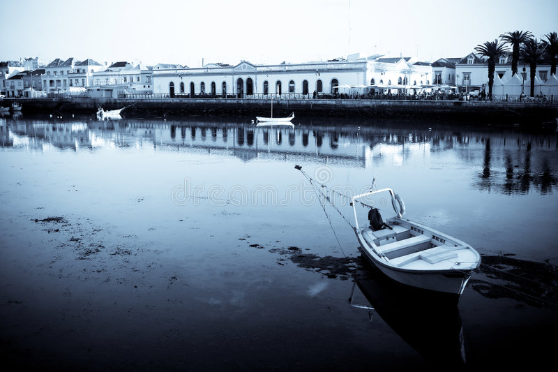 Tavira, Portugal stock image