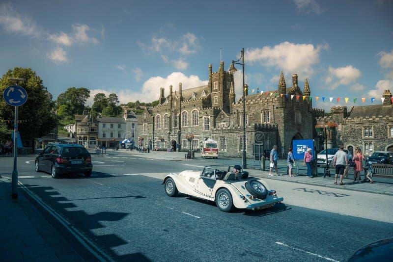 Tavistock è la città principale di Dartmoor Regno Unito fotografie stock