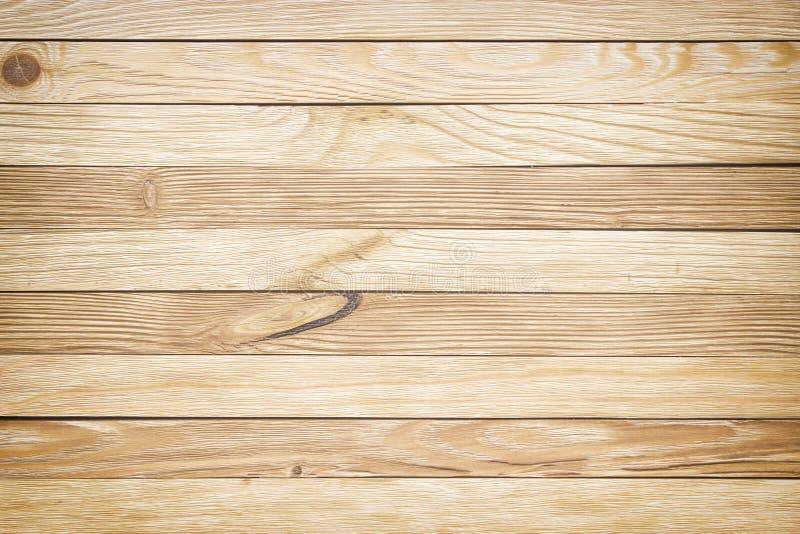 Tavola di legno leggera, vista superiore Struttura di legno per struttura della priorità bassa fotografie stock