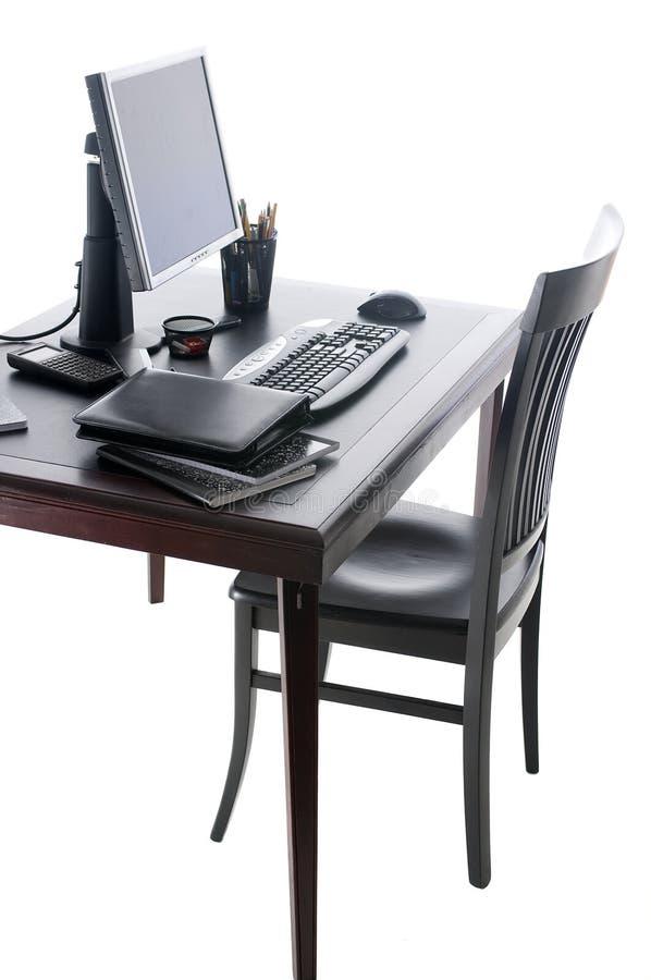 Tavolo dell'ufficio immagini stock