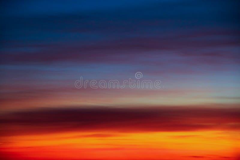 Tavolozza del cielo immagini stock libere da diritti