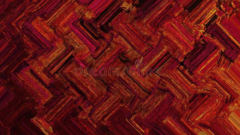 Tavolozza di colore Immagine di sfondo di pittura luminosa r immagini stock