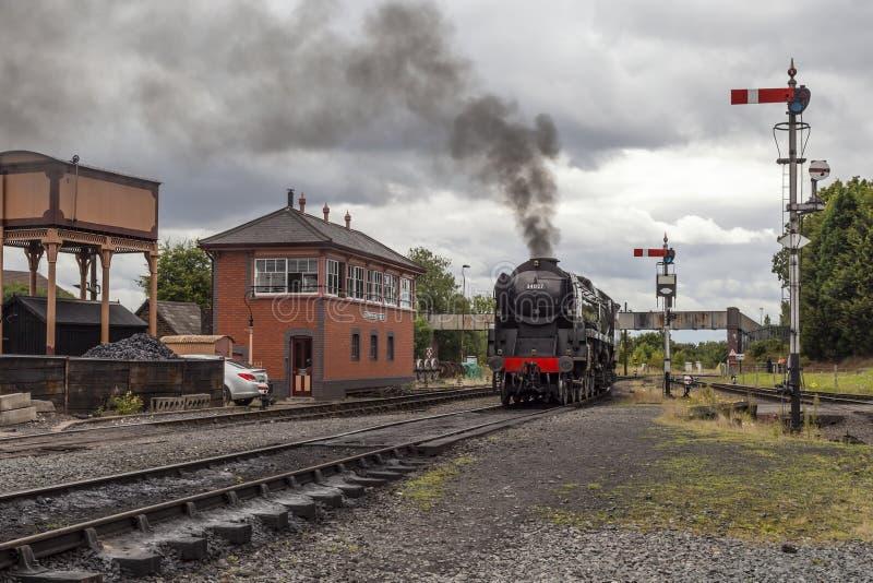 Taw Dolinna Parowa lokomotywa obraz royalty free