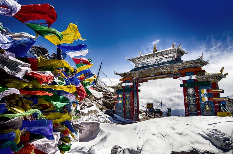 Tawang, Arunachal Pradesh στοκ εικόνα