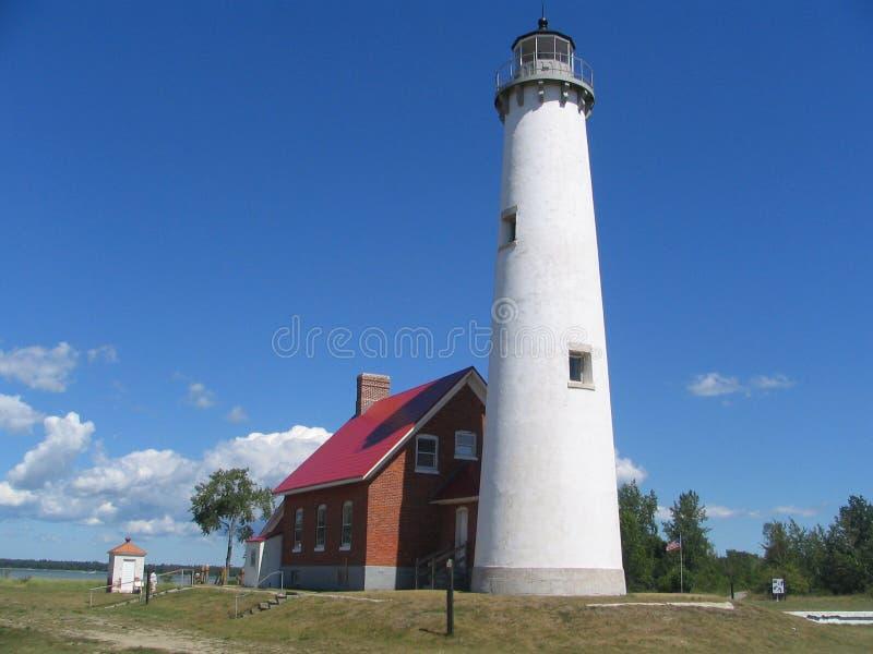 Tawas Punkt-Leuchtturm lizenzfreies stockbild