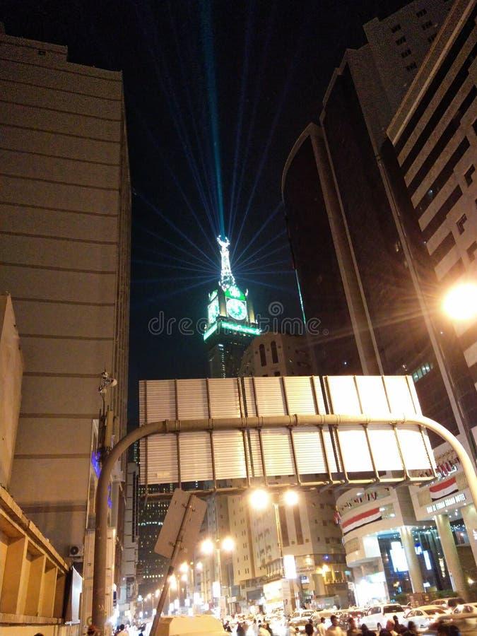 Tawor часов ночи Eid стоковое изображение rf