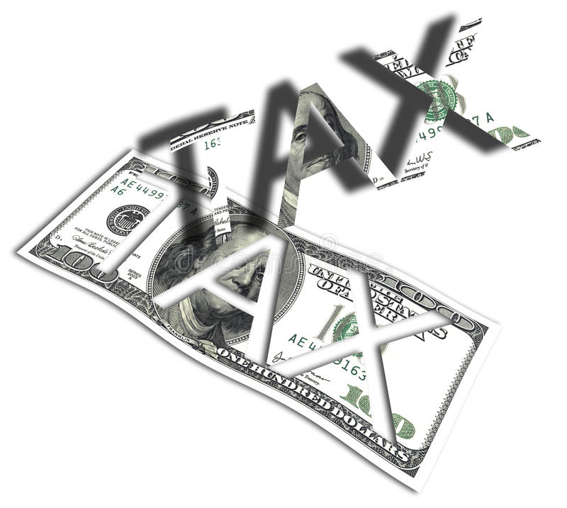 Download Tax stock illustration. Image of earnings, taxation, banking - 18567553