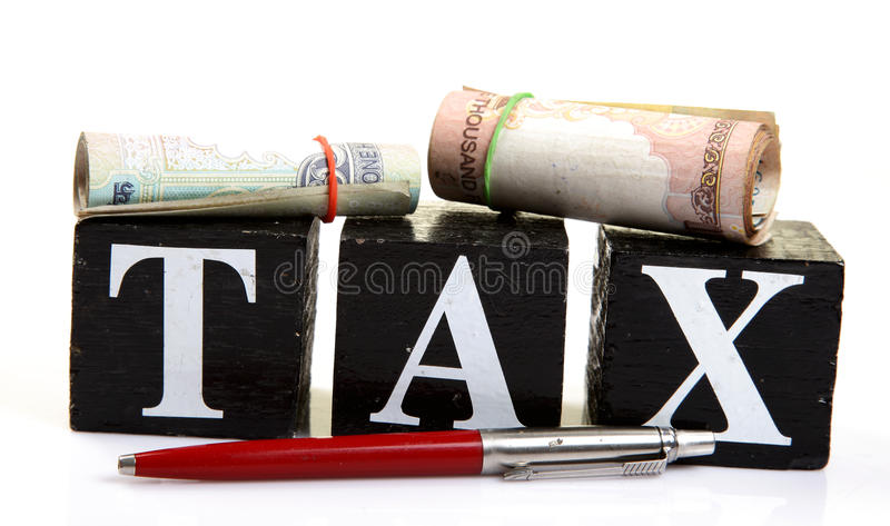 Download Tax stock image. Image of business, rolled, time, money - 18570981