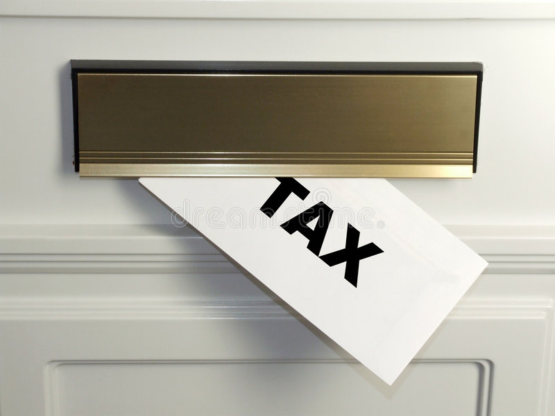 Tax Bill. An unwelcome surprise - a tax bill arrives in the mail