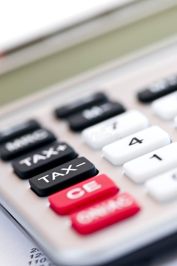 Free Tax Calculator Keypad Stock Image - 8036571