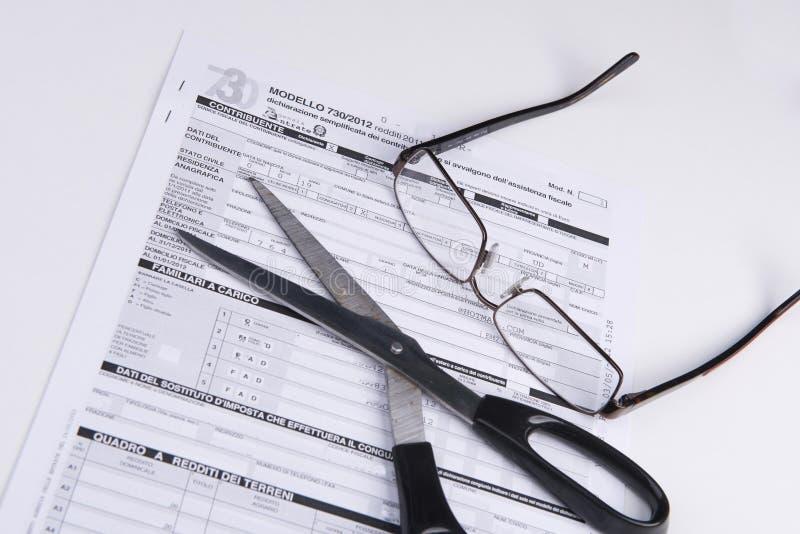 Tax cut stock photography