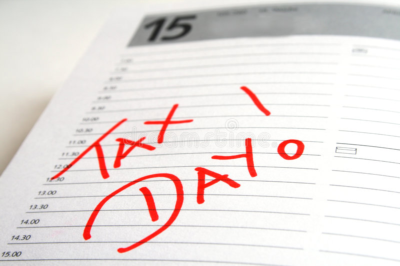 Tax Day royalty free stock photography