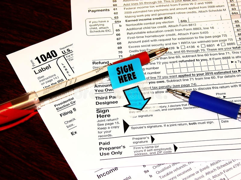 Download Tax Form stock photo. Image of closeup, point, stress - 13230918