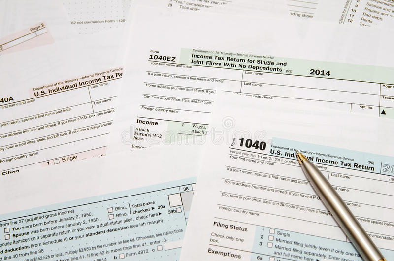 Tax Form 1040 Editorial Photography Image Of Return 64063067