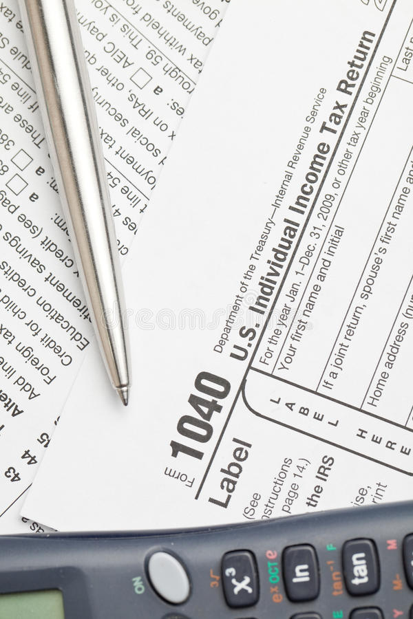 Tax Forms Stock Photo Image Of Schedule Gross Paperwork 12778758