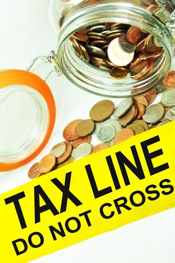 Tax Fraud Royalty Free Stock Photos