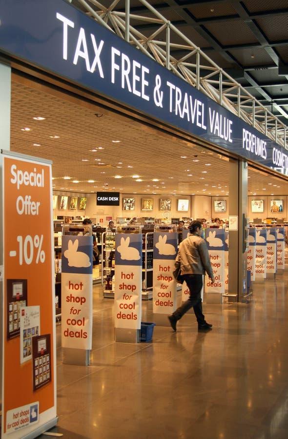 Download Tax free shop editorial photo. Image of charleroi, tourist - 25248356