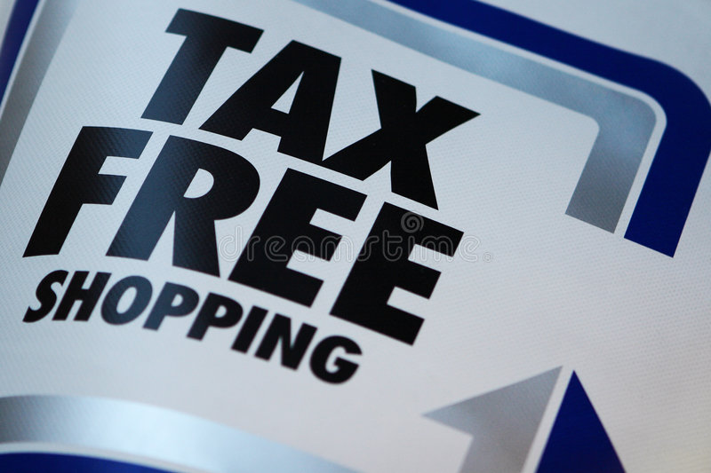 Download Tax Free Shopping Royalty Free Stock Photo - Image: 4028165