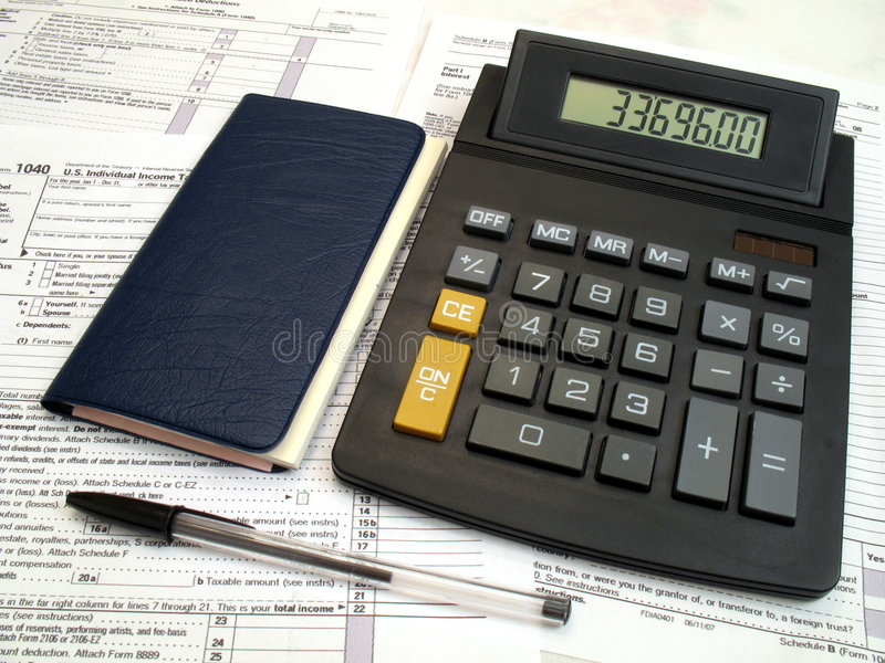 Download Tax Owed stock image. Image of calculation, bill, paying - 4624411
