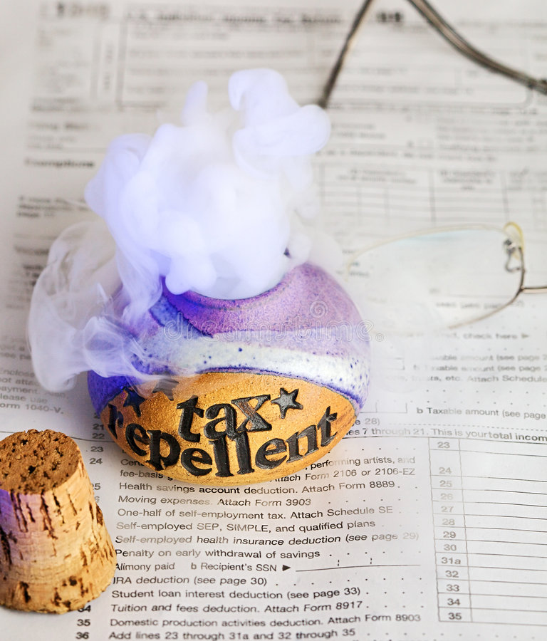 Free Tax Repellent Potion Stock Image - 8746811