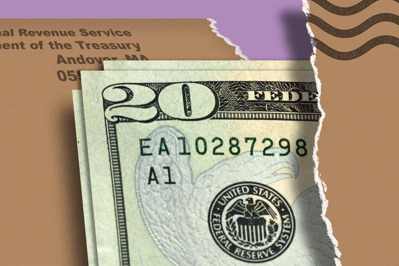 Tax Return. Envelope royalty free stock images