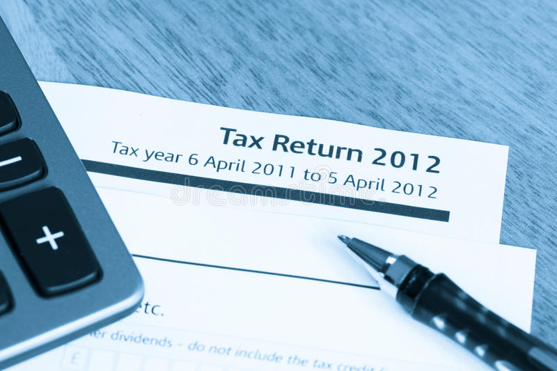 Download Tax return form 2012 stock image. Image of accountancy - 24067737