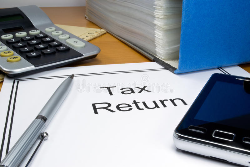 Download Tax return papers stock photo. Image of return, money - 23776984