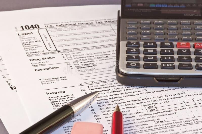 Tax Season royalty free stock image
