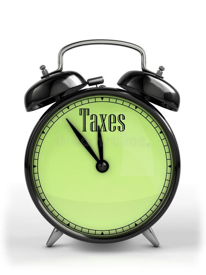 Tax time royalty free illustration
