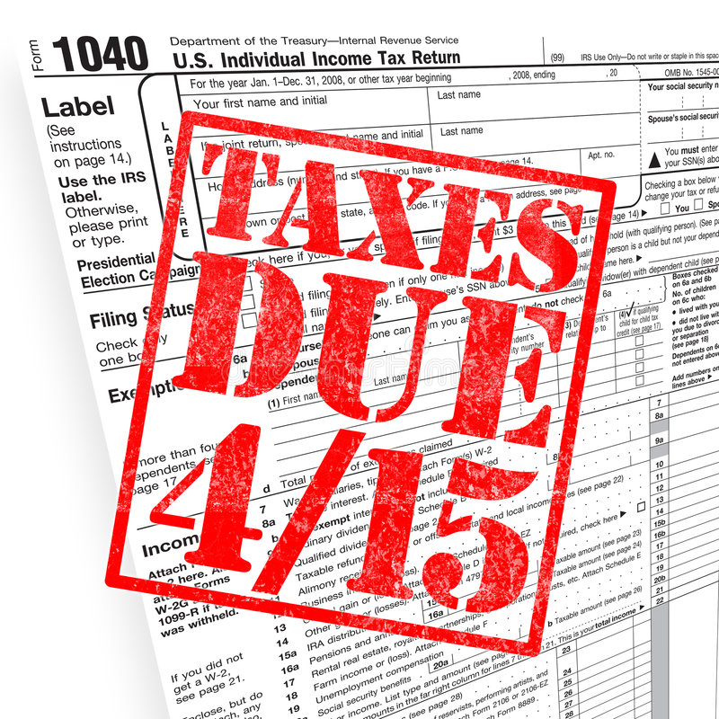 Download Tax Time Royalty Free Stock Image - Image: 8669996