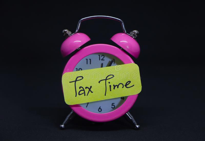 Tax Time. royalty free stock photography