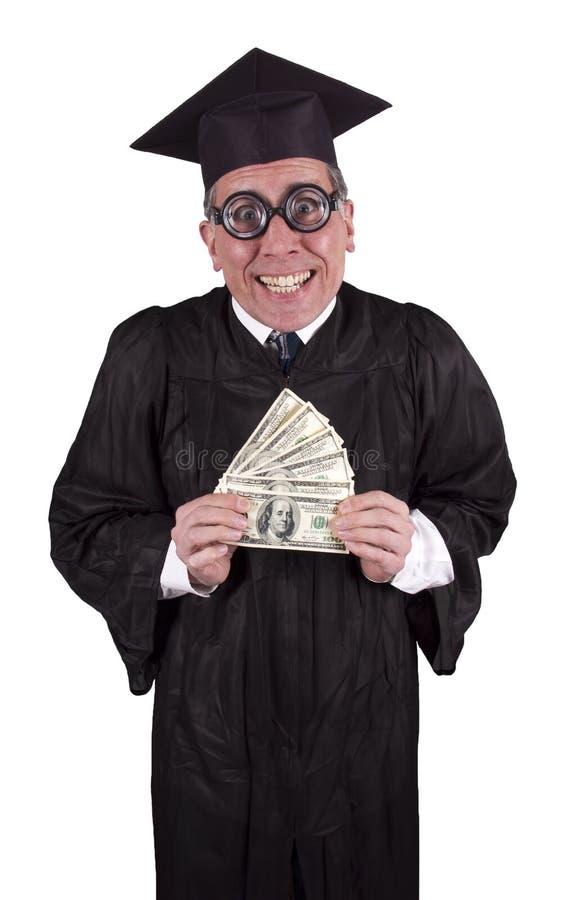Taxa de matrícula do professor Professor Dinheiro Dinheiro Instrução foto de stock royalty free
