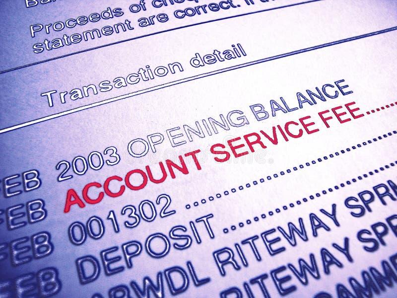 Taxa de serviço do cliente ilustração do vetor