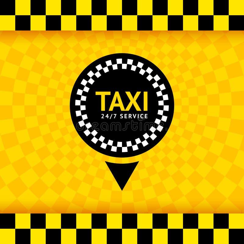 Taxa symbolet, ny bakgrund stock illustrationer