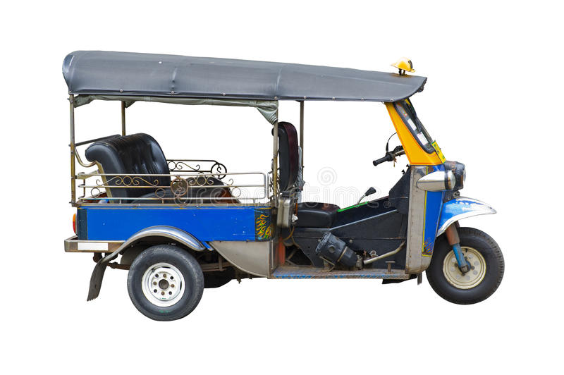 taxa thailand tuktuk royaltyfri bild