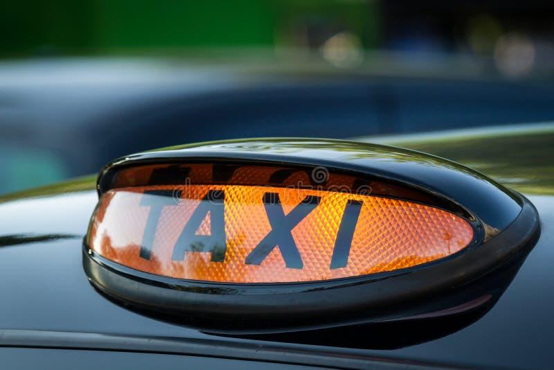 Taxa undertecknar in Skottland arkivfoto