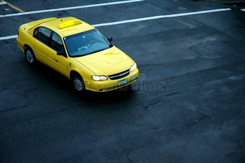 taxa yellow fotografering för bildbyråer