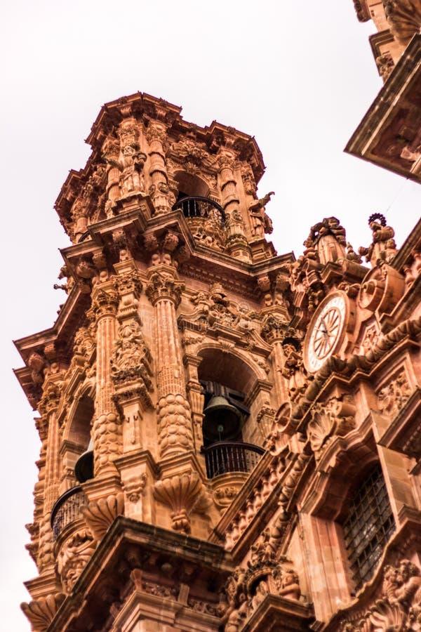 Taxco,格雷罗州教会  墨西哥 外面 库存图片