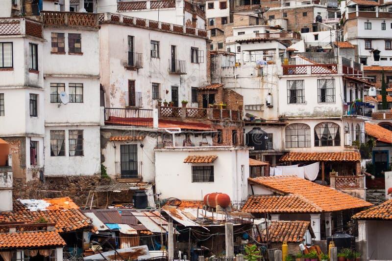 Taxco,格雷罗州的图片一个五颜六色的镇在墨西哥 免版税图库摄影
