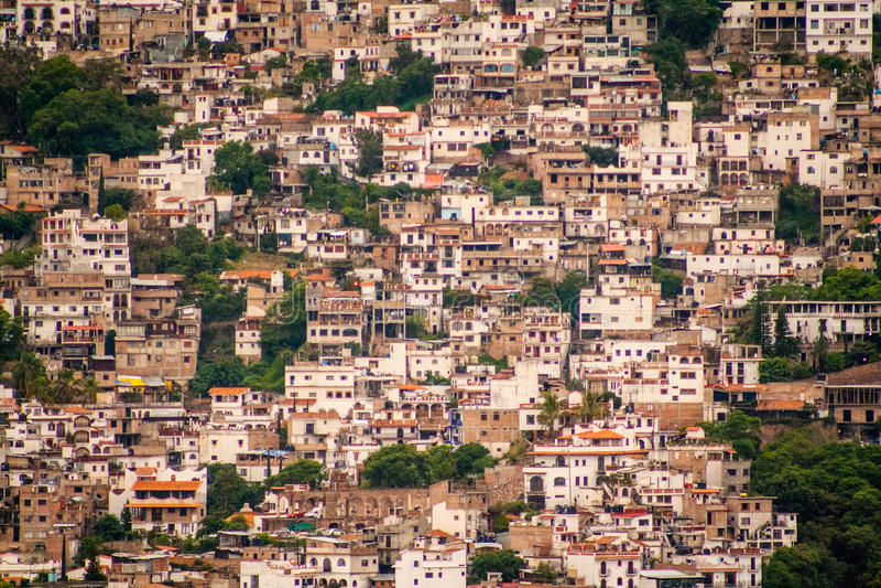 Taxco,格雷罗州的图片一个五颜六色的镇在墨西哥 库存图片
