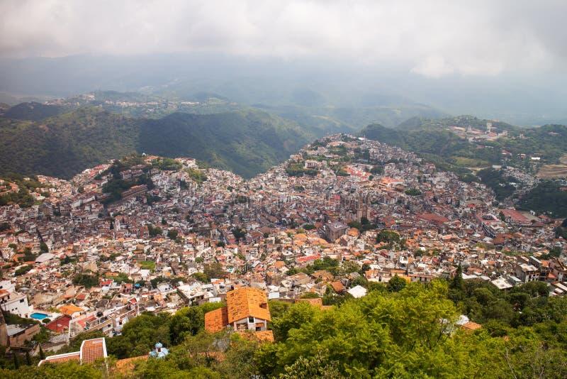 Taxco-Stadt lizenzfreie stockfotografie