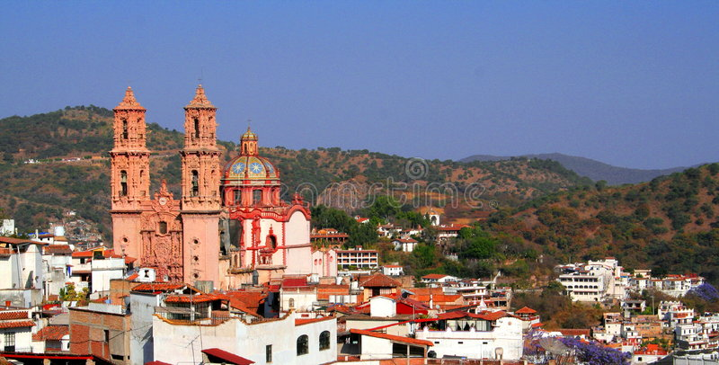 Download Taxco view stock photo. Image of colonial, american, ancient - 4970882