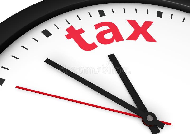 Taxe o tempo ilustração stock
