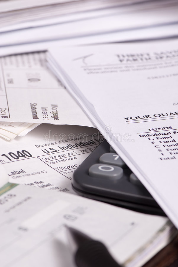 Download Taxes 1 Stock Image - Image: 1864571
