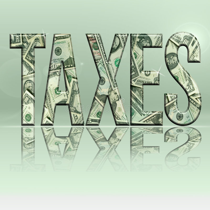 Taxes5.jpg stock de ilustración